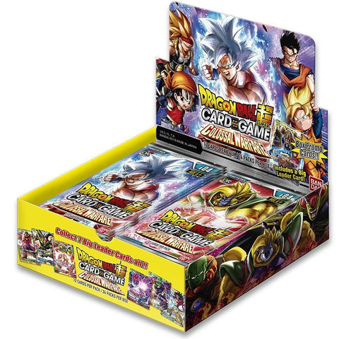 "Booster BT04 12 cartes Dragon Ball Super FR - Série 4 ""Colossal Warfare""-Very Bad Geek"
