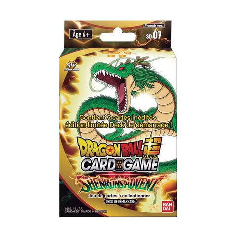"Starter Pack SD07 51 cartes Dragon Ball Super FR Série 7 ""Shenron's Advent""-Very Bad Geek"