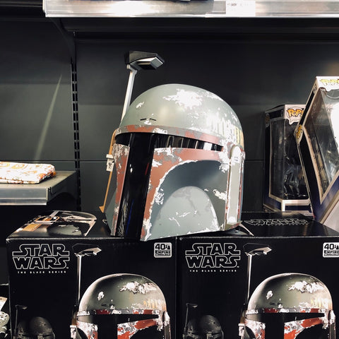 Casque Électronique Boba Fett - Star Wars Black Series par Hasbro-Very Bad Geek