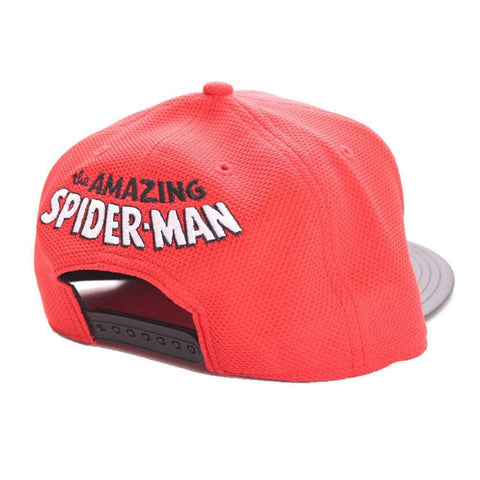 "Casquette Spider-Man ""black spider"" Snapback-Very Bad Geek"