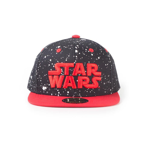"Casquette Star Wars ""logo rouge"" snapback-Very Bad Geek"