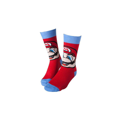 "Chaussettes Nintendo Super Mario ""Mario""-Very Bad Geek"