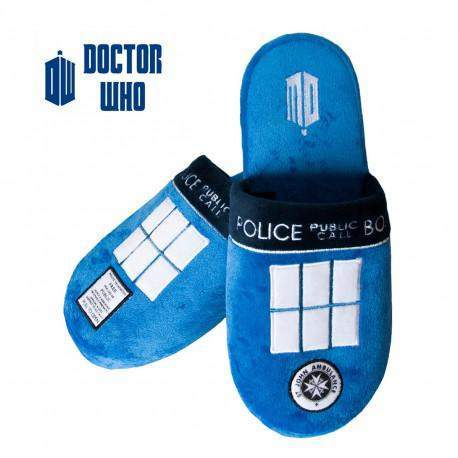 "Chaussons ""Tardis"" - Doctor Who"