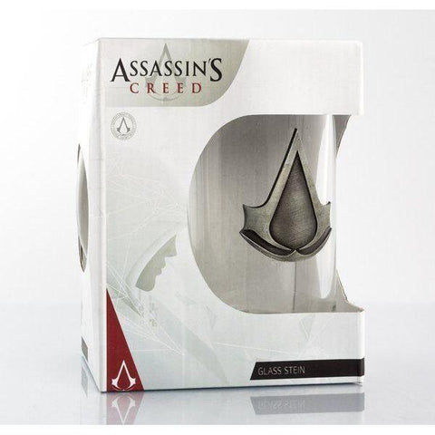 "Chope Assassin's Creed ""logo"" plaque de metal-Very Bad Geek"