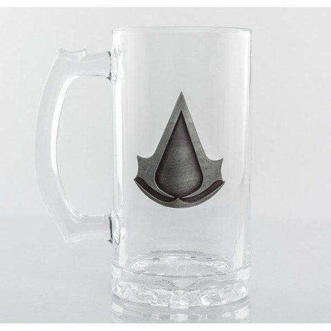 "Chope Assassin's Creed ""logo"" plaque de metal"