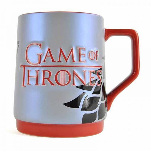 "Chope / Mug Game of Thrones ""Logo + Stark"" - EDITION LIMITÉE"