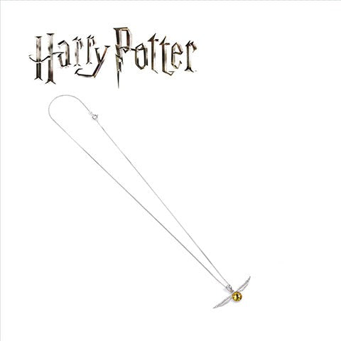 "Collier ""Vif d'Or"" Harry Potter x Swarovski-Very Bad Geek"