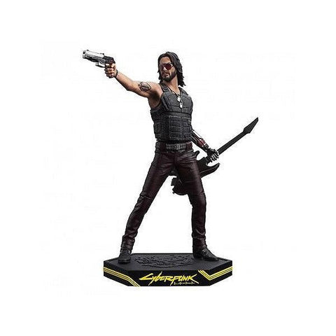 Statuette Cyberpunk 2077 -Johnny Silverhand 24cm-Very Bad Geek