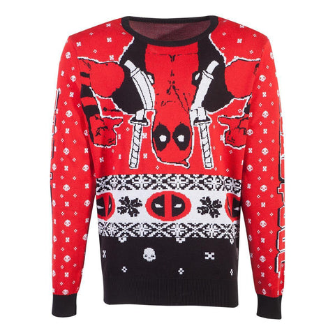 Pull de Noël - Deadpool-Very Bad Geek