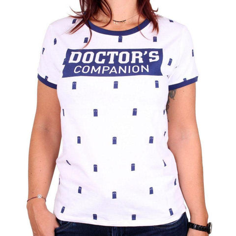 "T-Shirt Doctor Who femme - ""Doctor's Companion"""