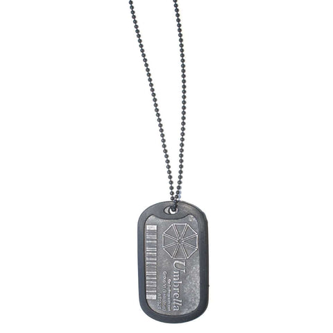"Dog Tags collier Resident Evil ""Umbrella Corporation"""