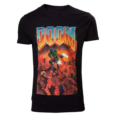 "T-Shirt Unisexe - DOOM ""Classic Box Art""-Very Bad Geek"