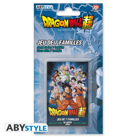 Jeu de 7 familles Dragon Ball Super-Very Bad Geek