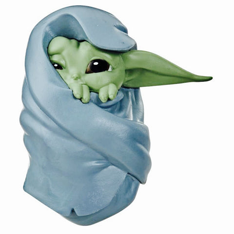 "Mini figurine Baby Yoda - The Child ""couverture""-Very Bad Geek"