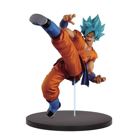 Figurine Dragon Ball Super - Goku Super Saiyan Blue 19cm - BanPresto SGF