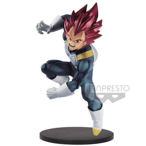 Figurine Dragon Ball Super - Vegeta SSG - BanPresto Blood of Saiyans SP7