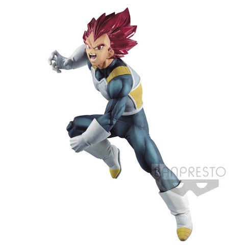 Figurine Dragon Ball Super - Vegeta SSG - BanPresto Blood of Saiyans SP7-Very Bad Geek