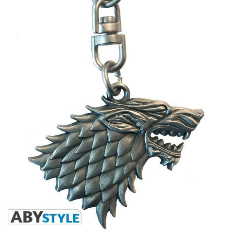 "Porte-clés 3D Game of Thrones ""Stark"""