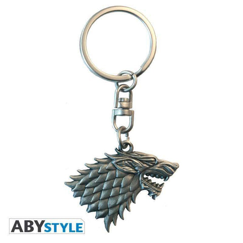 "Porte-clés 3D Game of Thrones ""Stark""-Very Bad Geek"