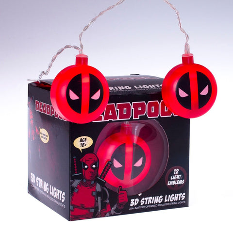 Guirlande Lumineuse Deadpool 3D-Very Bad Geek