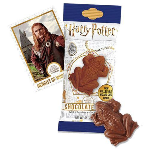 Chocogrenouille Harry Potter 15g et carte collector
