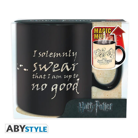 "Grand mug Thermo-Réactif Harry Potter ""Carte du Maraudeur"" 460ml-Very Bad Geek"