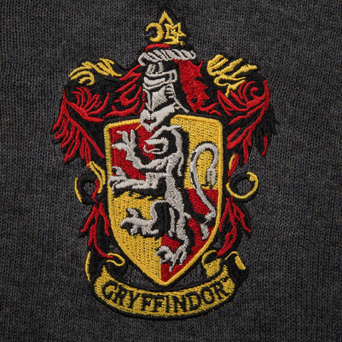 Pull Gryffondor tricot col en V - Harry Potter-Very Bad Geek