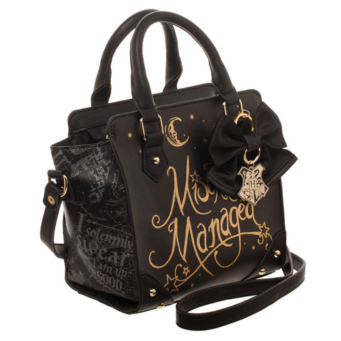 Sac à main Harry Potter Deluxe - Mischief Managed-Very Bad Geek