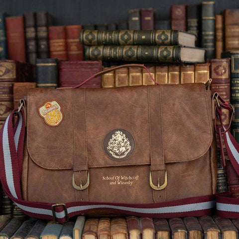 Sac bandoulière Harry Potter Deluxe - Poudlard-Very Bad Geek