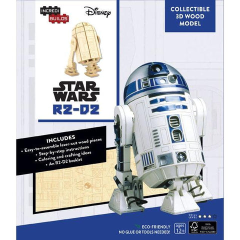 Maquette Bois Star Wars - R2-D2 IncrediBuilds