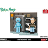 Jeu de Construction Rick and Morty - Etagères du Garage, Jerry et Mr Meeseeks-Very Bad Geek