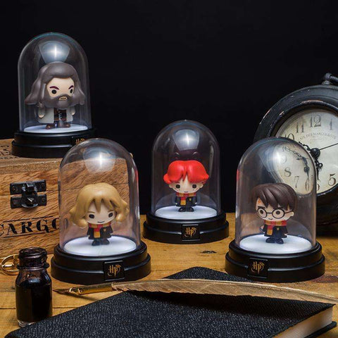 "Mini Lampe Harry Potter ""Harry"" sous cloche-Very Bad Geek"