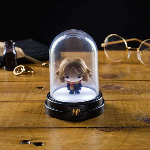 "Mini Lampe Harry Potter ""Hermione"" sous cloche"