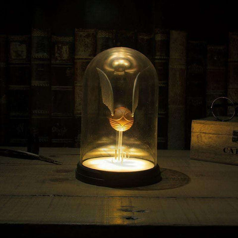 Lampe Harry Potter Vif d'Or sous cloche