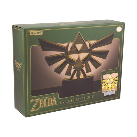 Lampe Zelda - Hyrule Crest-Very Bad Geek
