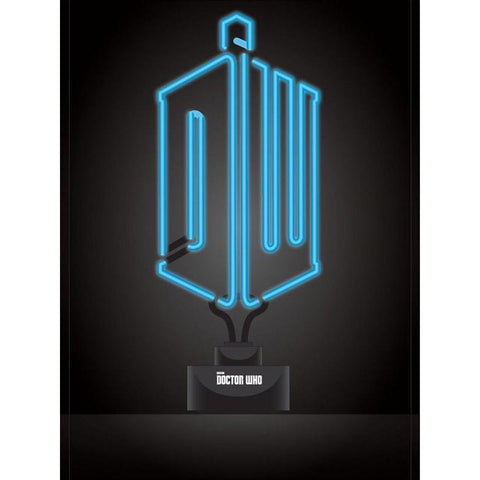"Lampe Néon Doctor Who ""Logo"""