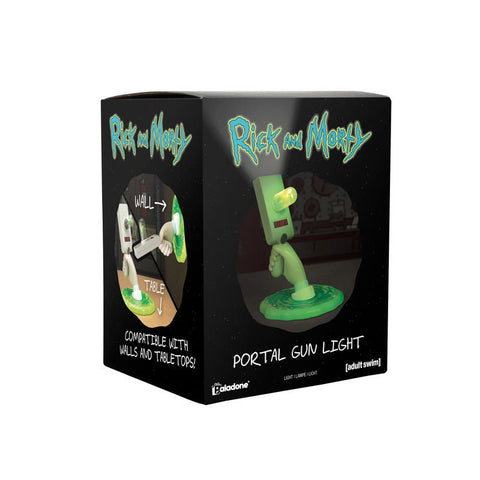 "Lampe Rick et Morty ""Portal Gun""-Very Bad Geek"