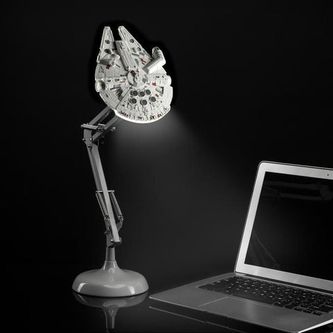 "Lampe de bureau Star Wars ""Faucon Millenium""-Very Bad Geek"