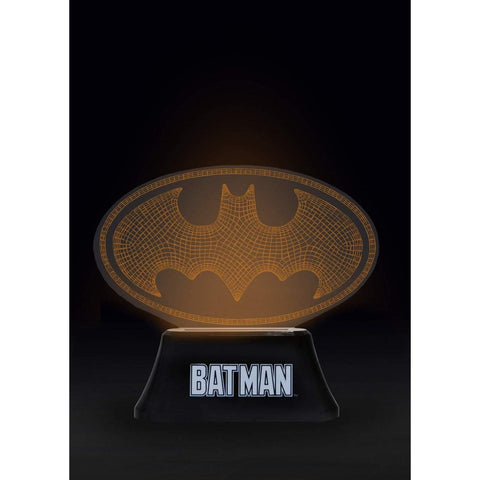 Lampe DC Batman Logo Wireframe 7 couleurs