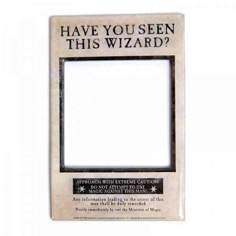 "Magnet Harry Potter - Cadre Photo ""Have You Seen This Wizard ?""-Very Bad Geek"