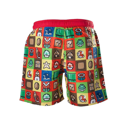 Maillot de Bain Super Mario - Icônes-Very Bad Geek