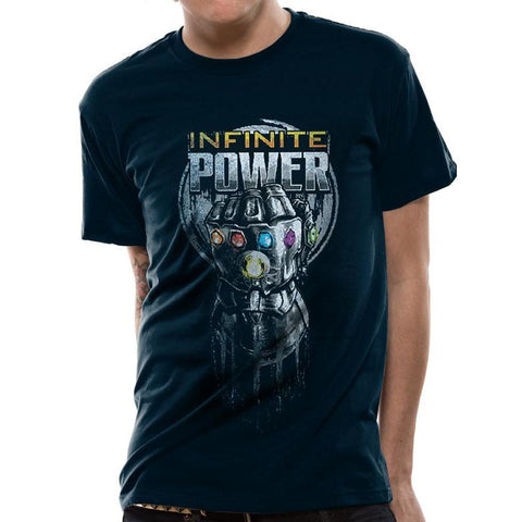 "T-Shirt Unisexe - Avengers Infinity War ""Thanos Infinite Power""-Very Bad Geek"