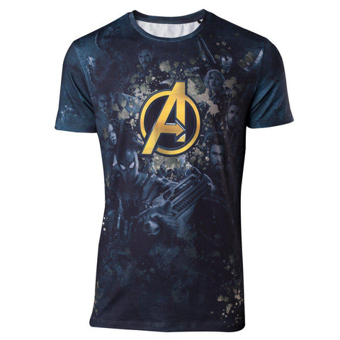 "T-Shirt Unisexe - Avengers Infinity War ""Team Avengers""-Very Bad Geek"