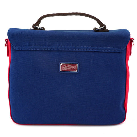 Sac bandoulière Captain America Deluxe - Marvel-Very Bad Geek