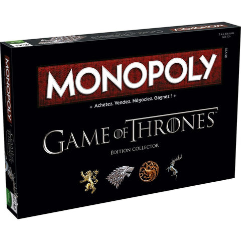 "Monopoly Game of Thrones ""Edition Collector"" - Jeu de Plateau"
