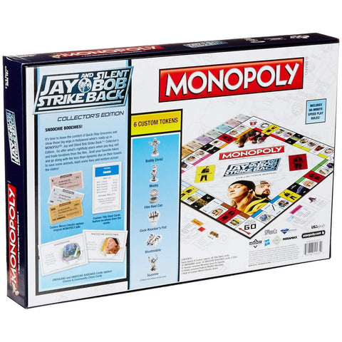 Monopoly Jay et Silent Bob Contre-Attaquent - Jeu de Plateau version ANGLAISE-Very Bad Geek