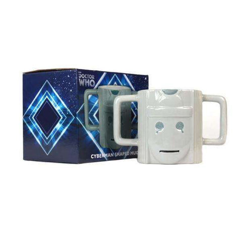 "Mug 3D Doctor Who ""Cyberman"" 500ml"