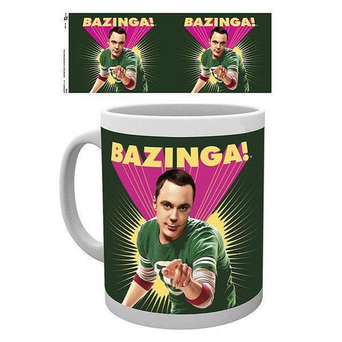 "Mug Big Bang Theory ""Sheldon, Bazinga"""