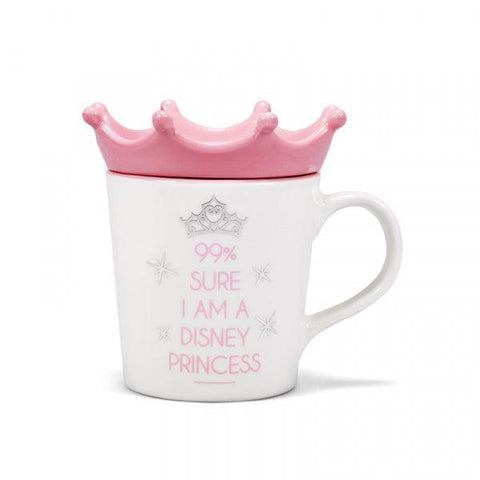 "Mug et coupelle ""Je suis une princesse Disney""-Very Bad Geek"