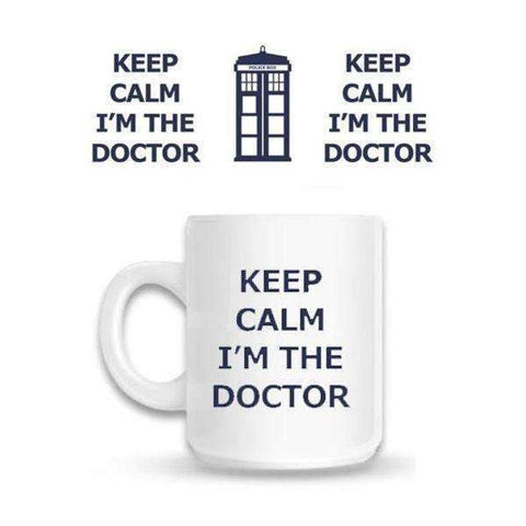 "Mug Doctor Who ""Keep Calm I'm The Doctor"""